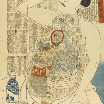 Illustrated Internal Bodily Functions in Ukiyo-e From the 1800s