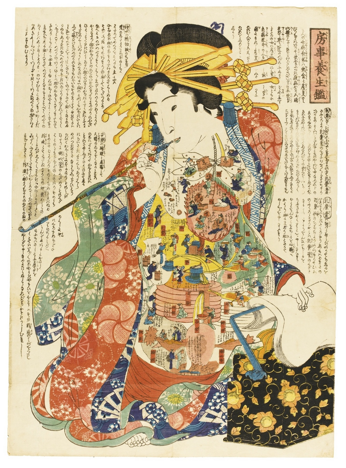 ukiyo-e internal bodily functions (2)