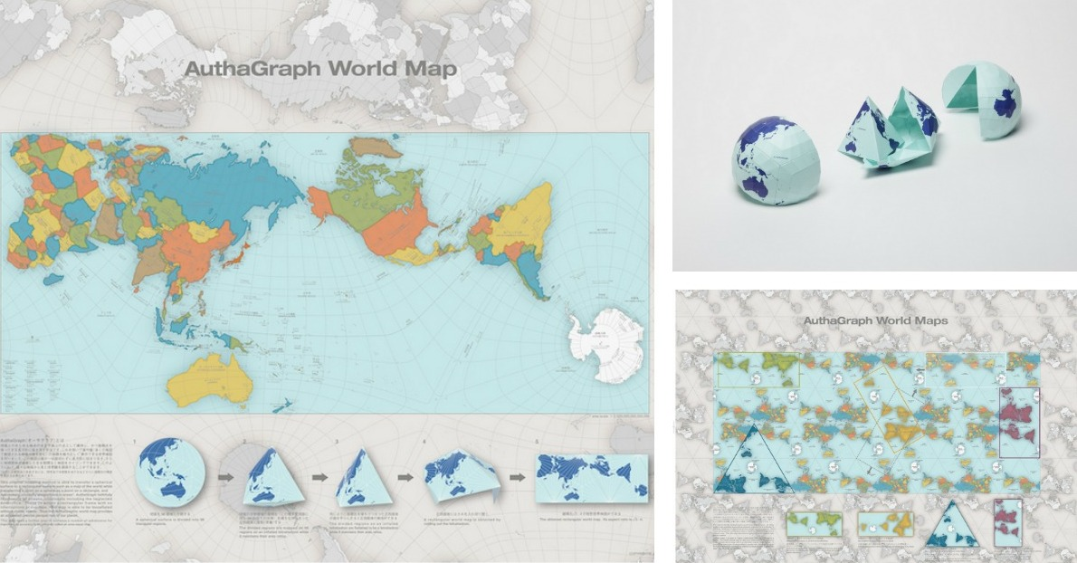 This map of the world just won japans prestigious design award this map of the world just won japans prestigious design award spoon tamago publicscrutiny Gallery