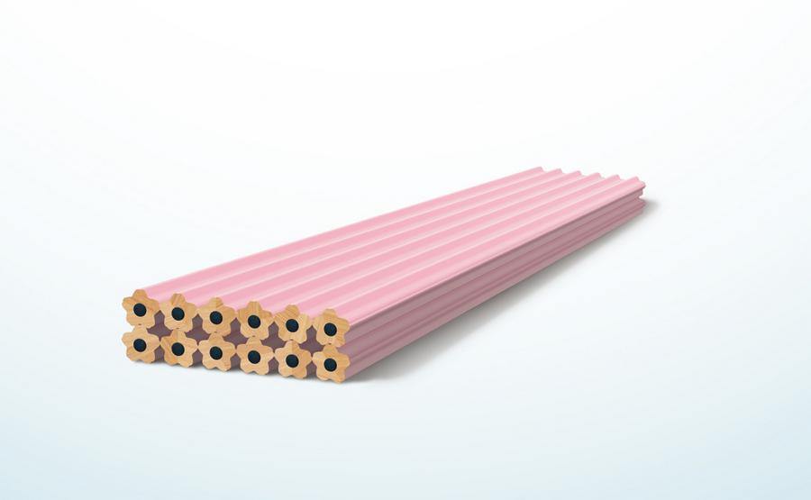 cherry-blossom-pencil