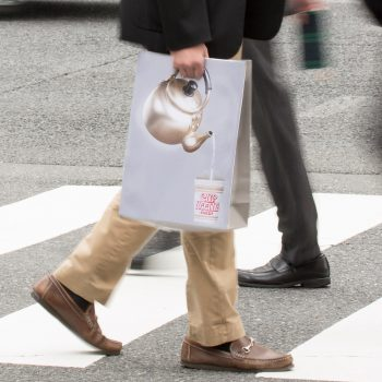 Pour While You Walk With This New Cup Noodle Bag