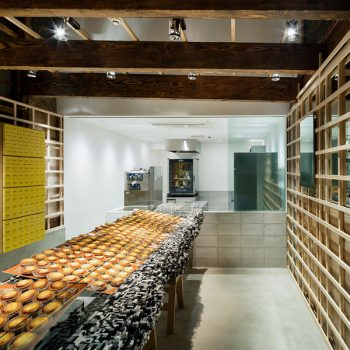 Bake: A Renovated Kyoto Townhouse Turned into a Cheese Tart Shop