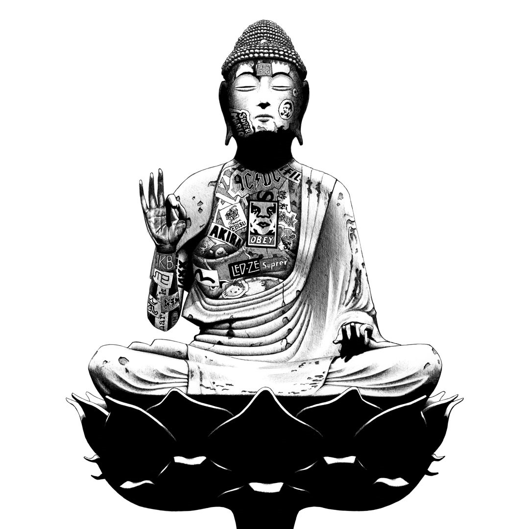 contemporary-idols-buddha-stickers