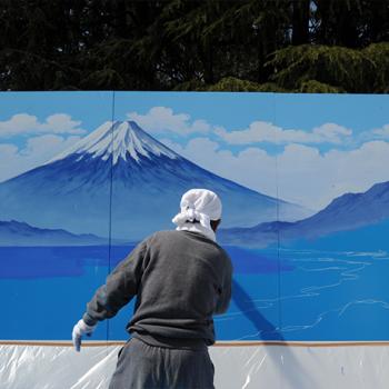 Kiyoto Maruyama: one of Japan's last public bath mural painters