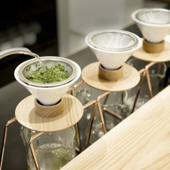 World's First Hand-Drip Green Tea Shop Opens in Tokyo