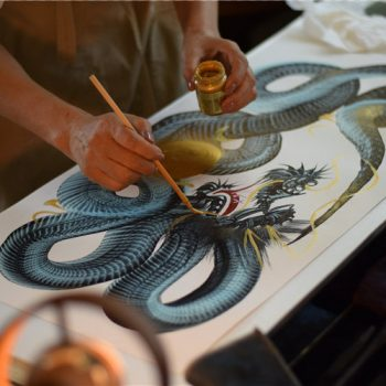 Ippitsuryu: Single Stroke Paintings of Dragons