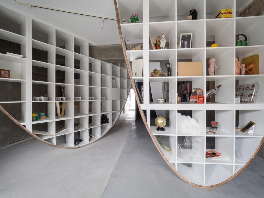 Japanese Designer Hacks IKEA Shelf To Create Floor To Ceiling - Does ikea have flooring