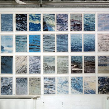 Toshiaki Hicosaka's Newspaper Sketches of Ocean Waves