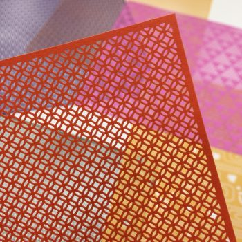 Laser-Cut Origami Featuring Traditional Japanese Patterns