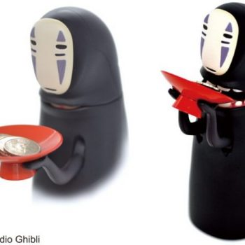 Kaonashi (No Face) Coin Bank