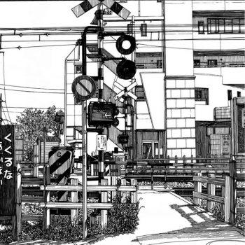 Manga Artist Kiyohiko Azuma's Urban Sketches of Japan