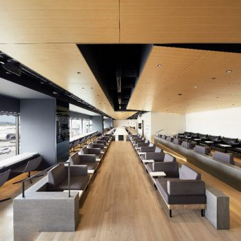 Haneda Airport's New Power Lounge by Kenya Hara and Takram