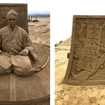The Incredible Sand Sculptures of Toshihiko Hosaka
