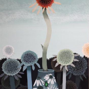 Otherworldy Paintings of Vegetation by Asako Iwasawa