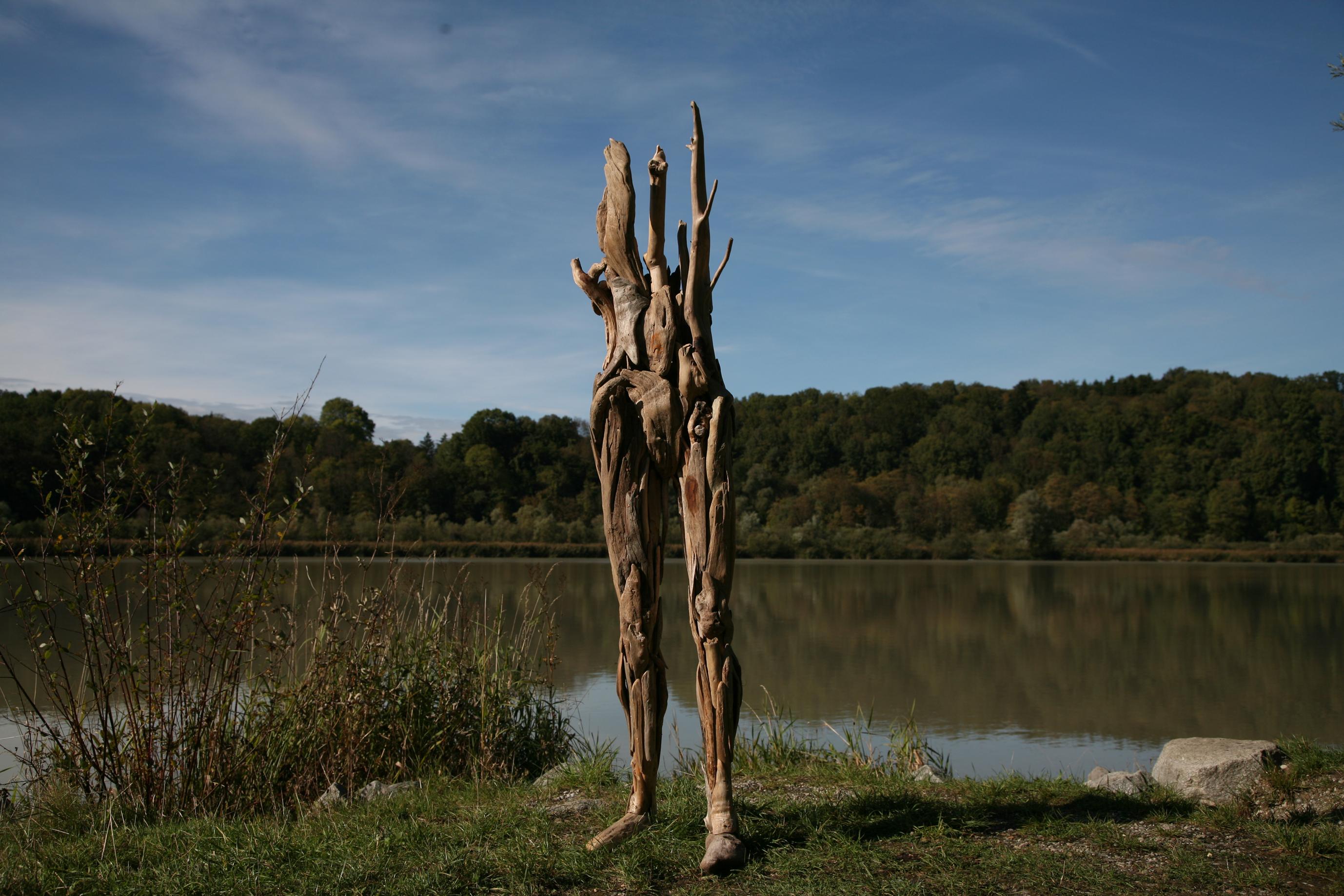 Driftwood Sculptures by Nagato Iwasaki | Spoon & Tamago