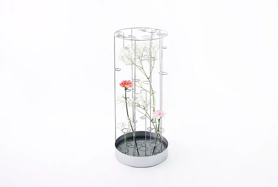 Imaginative Flower Vases Showcase The Beauty Of Metal Spoon Amp Tamago