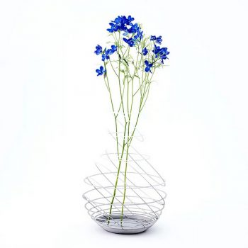 Imaginative Flower Vases Showcase the Beauty of Metal