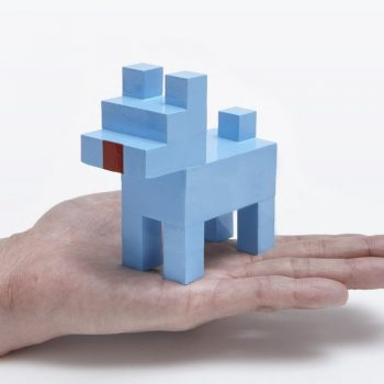 8-Bit Mini Puppy by Shinji Murakami