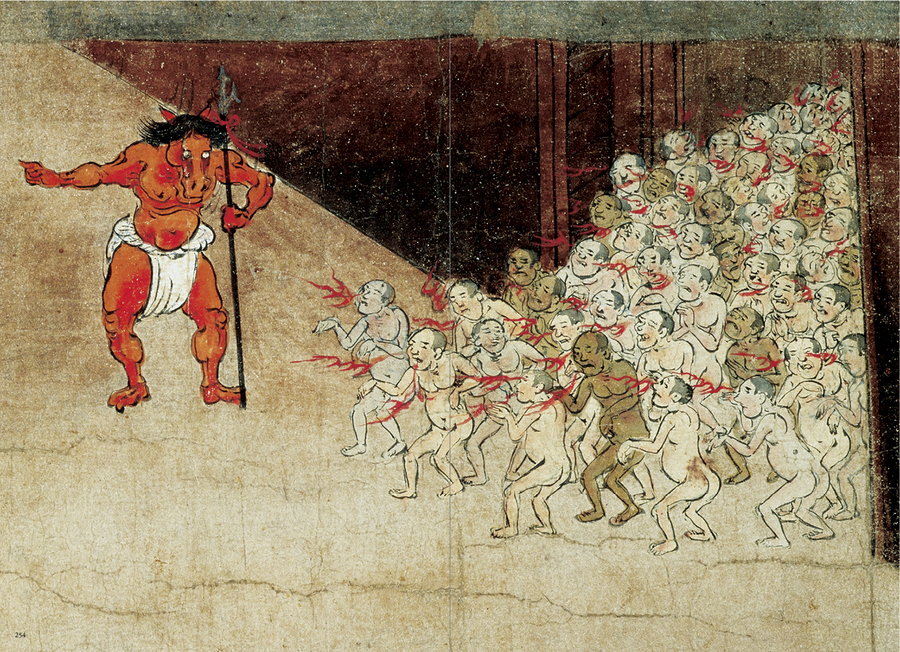 These Concepts Of Hell Jigoku In Japanese Are Derived From Ancient Buddhist Scriptures And Im Ceaselessly Amazed By The Imagination Monks