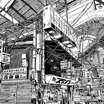 Quirky Ballpoint Pen Illustrations of Japan by Yukihiro Tada