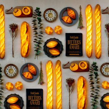 Illuminating Lamps Made From Real Bread by Yukiko Morita
