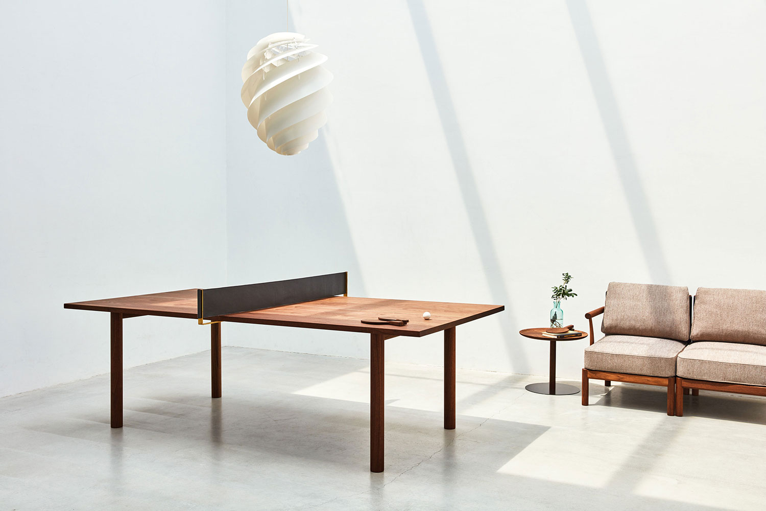 Yu an elegant and minimal wooden furniture collection by for Minimal furniture