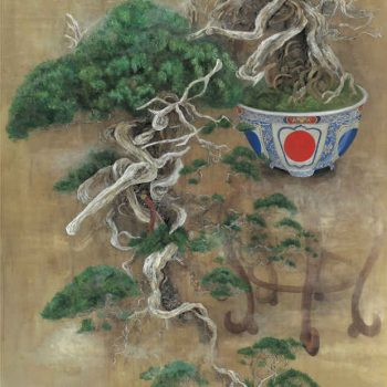 The Mechanical Bonsai Paintings of Mai Inoue