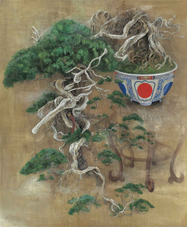 The Mechanical Bonsai Paintings Of Mai Inoue Spoon Tamago