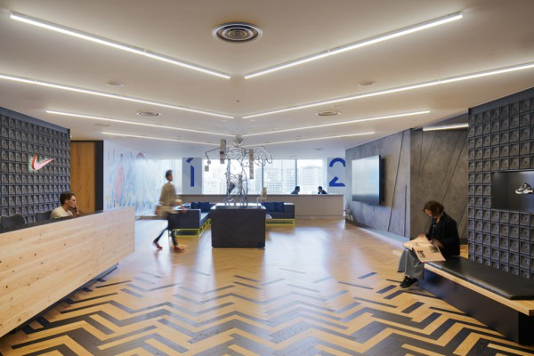 nike's new office in tokyo designedtorafu architects | spoon