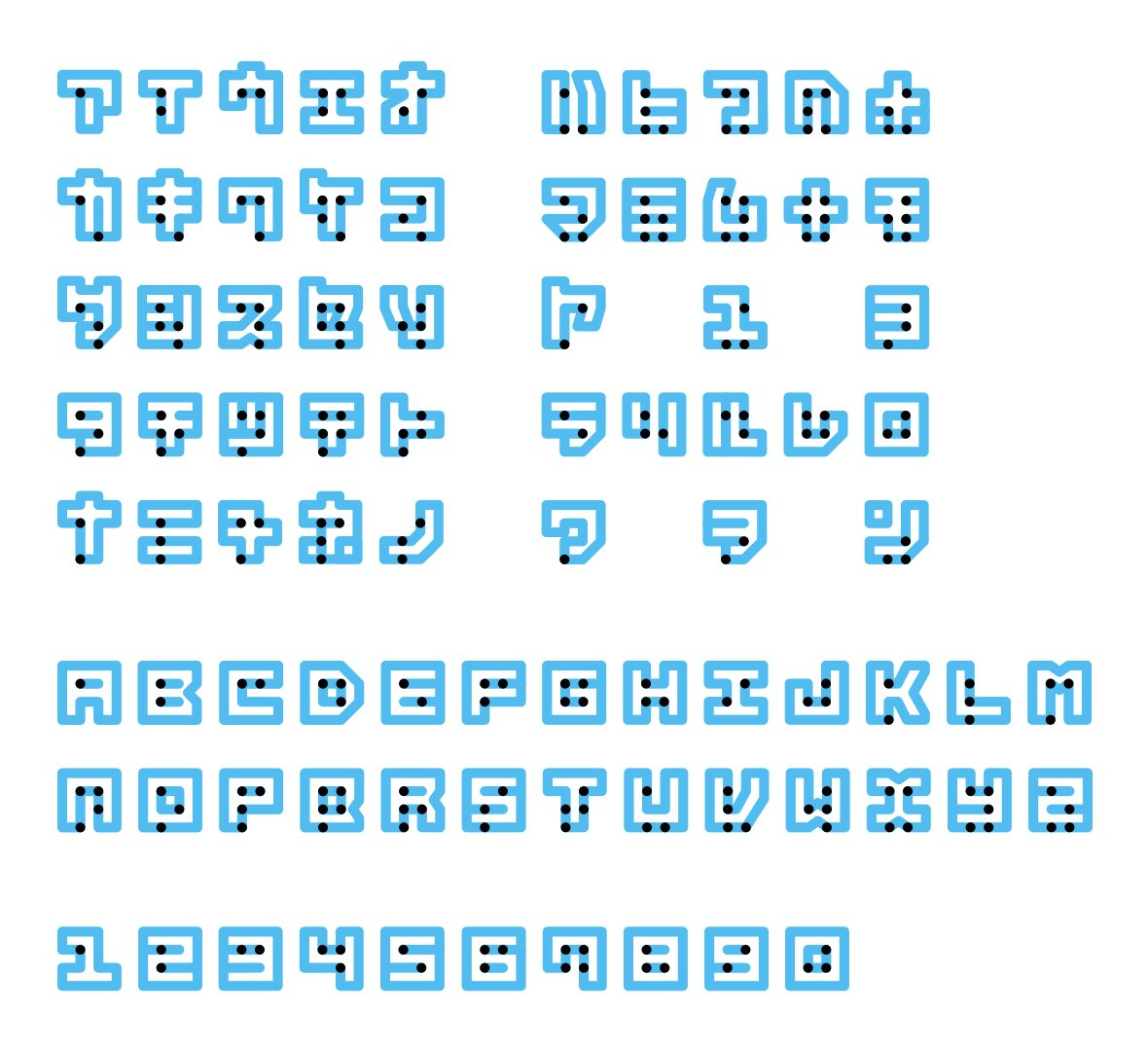 Braille Nueu Typeface Communicates Visually And Physically