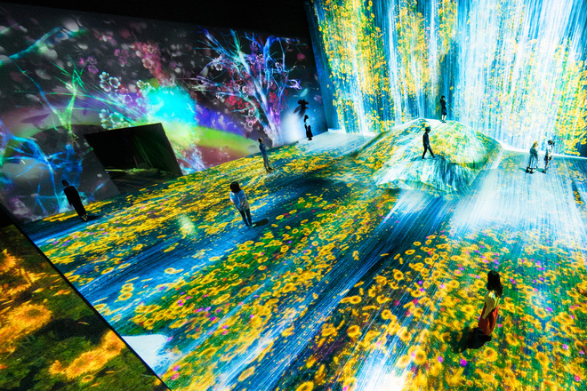 Teamlab to get permanent digital art museum opening this for Digital house design