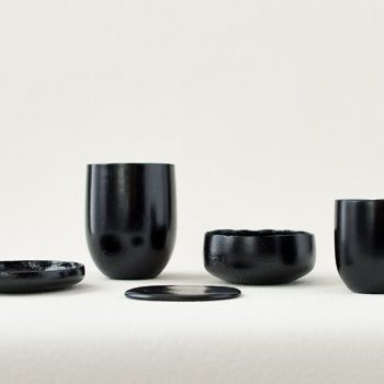Food Waste Transformed into Tableware by Kosuke Araki