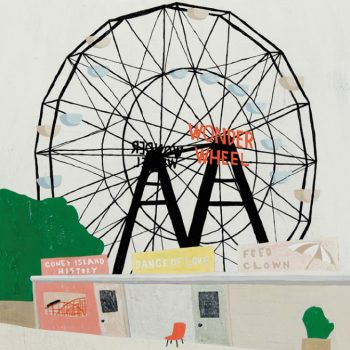 Nostalgic Paintings of Coney Island by Kotatsu Iwata