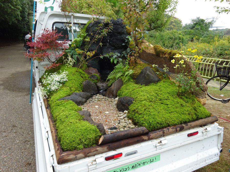 The Japanese Mini Truck Garden Contest Is A Whole New Genre In