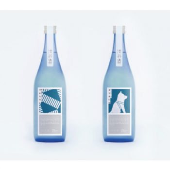Shibuya-Branded Sake Features Hachiko and Scramble Crossing
