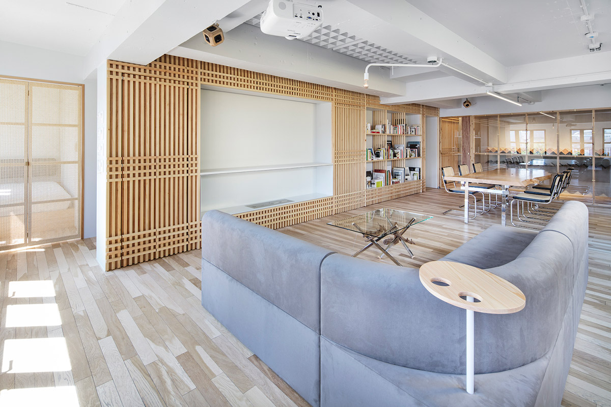 A Private Room with a Built In Garden and Wine Cellar Spoon Tamago