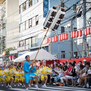 Portraits from the 2018 Koenji Awa Odori Festival