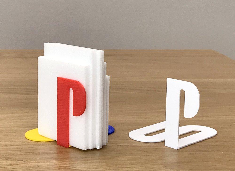 Logotipos famosos impresos en 3D