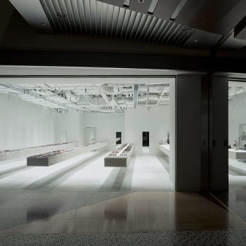 Junya Ishigami's New Shop for Eyewear Brand JINS Features 12-Meter Cantilevered Display Shelves