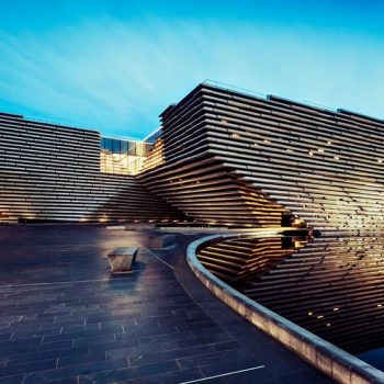 Kengo Kuma's V&A Dundee is Scotland's First Design Museum