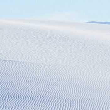 Photographs of New Mexico's White Sand Dunes by Yoshihiro Makino