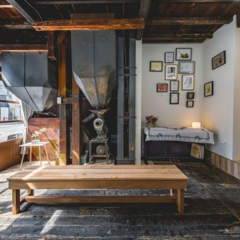 Almost Perfect: A 100-Year Old Tokyo Rice Shop Converted Into a Space for Creatives
