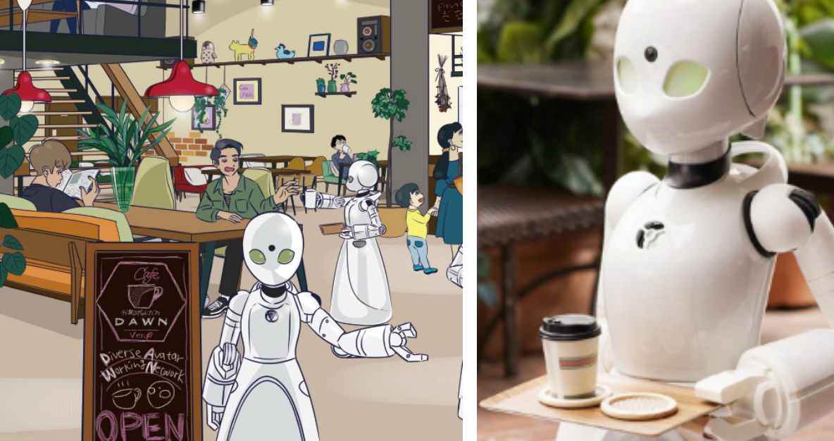 Pop-Up Café In Tokyo Will Allow Severely Disabled to Work Using Robotic Avatars