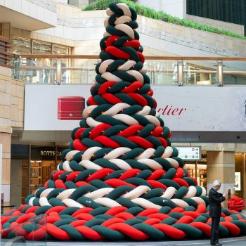 A Nap-able Christmas Tree Emerges in Roppongi Hills