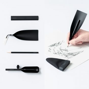 A Pencil That Amplifies the Sound of Writing
