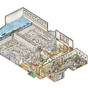 Honami Enya Creates Detailed Cross-Section Illustrations of Sentos