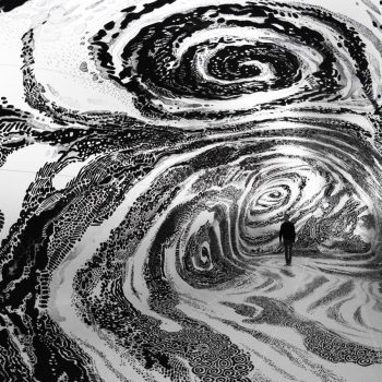 Black & Light: A New Immersive Painting Inside an Inflated Canvas