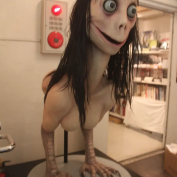 Keisuke Aiso's Ubume Sculpture that was Missappropriated as the Face of the Momo Hoax