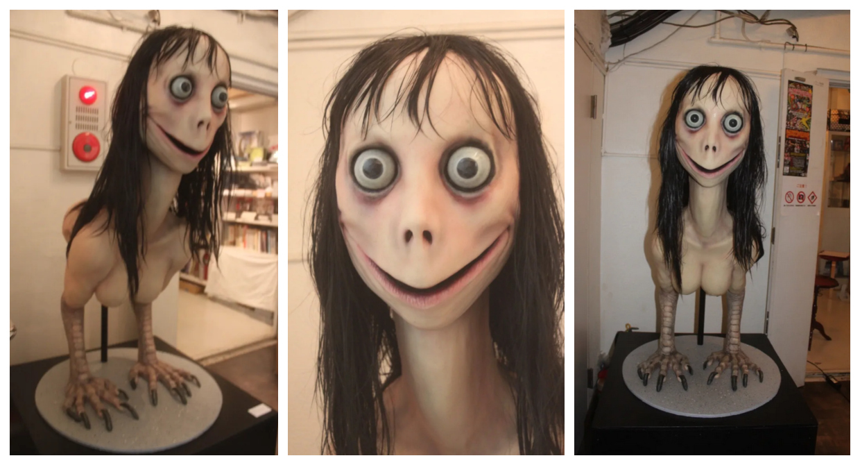 Momo Picture: Keisuke Aiso's Ubume Sculpture That Was Missappropriated