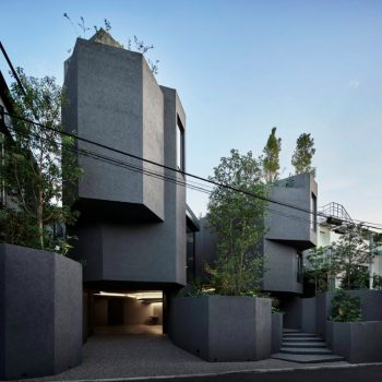 A Home in Tokyo Inspired by a Mountainous Hiking Path